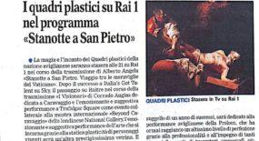 I quadri plastici su RAI 1